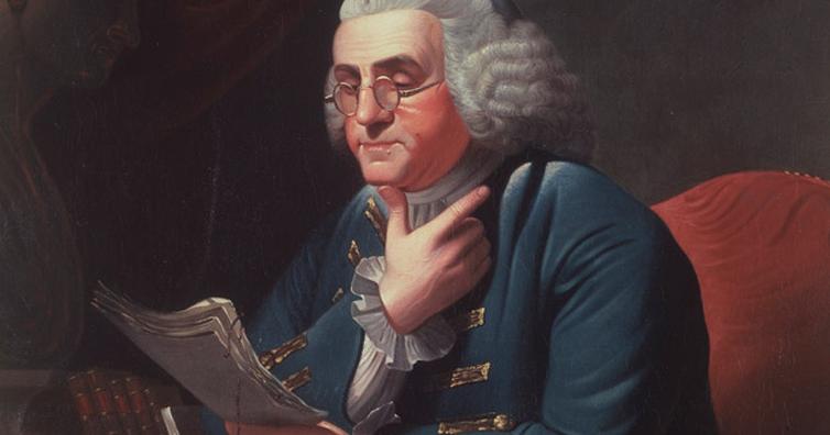 Essay kentut hingga mandi angin, Fakta absurd dan nyeleneh seorang Benjamin Franklin