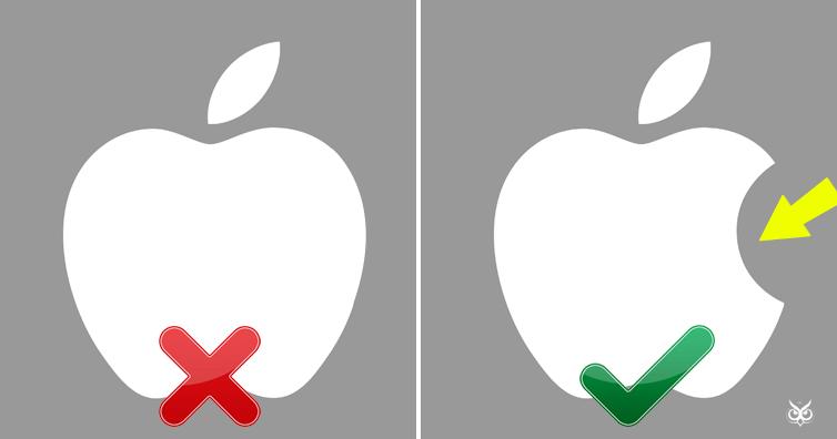 apple logo designer reveals why the logo has a bite i m a useless