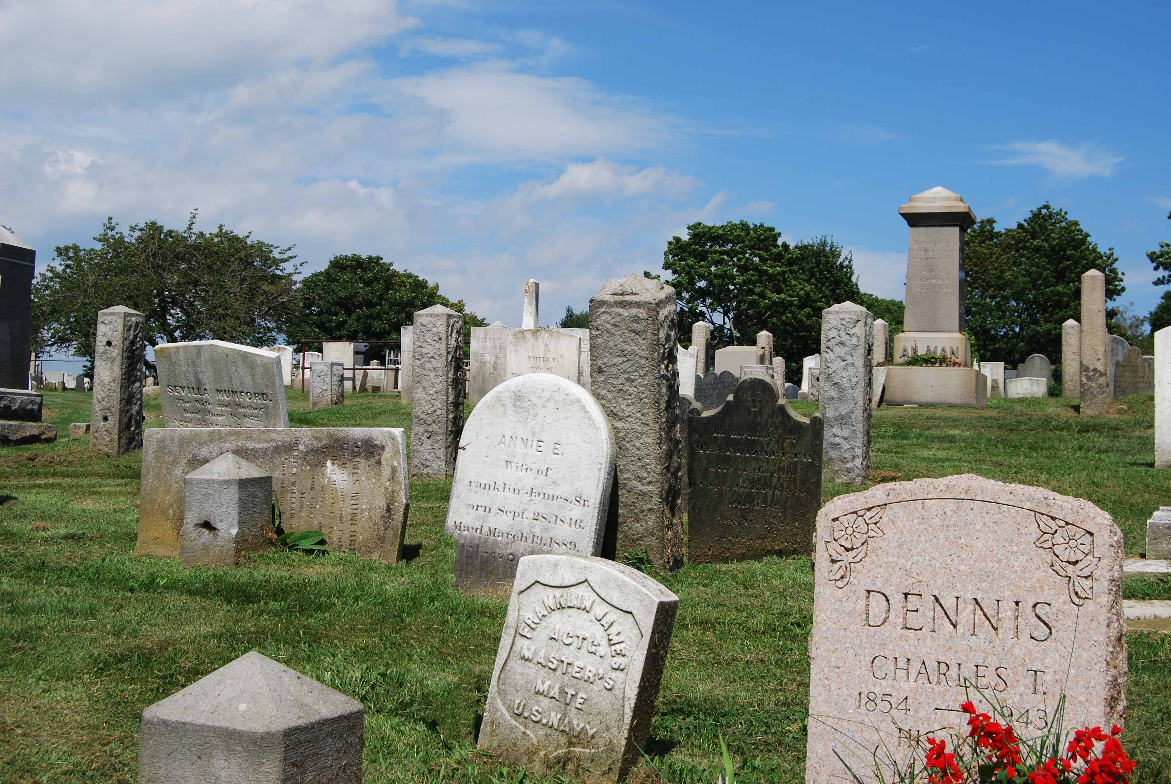 this is the difference between graveyard and cemetery i m a