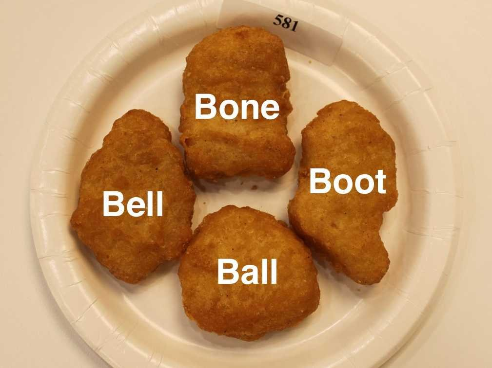 Lyric nugget in a biscuit lyrics : Why Do McDonald's Nuggets Only Come In These Four Shapes? - I'm A ...