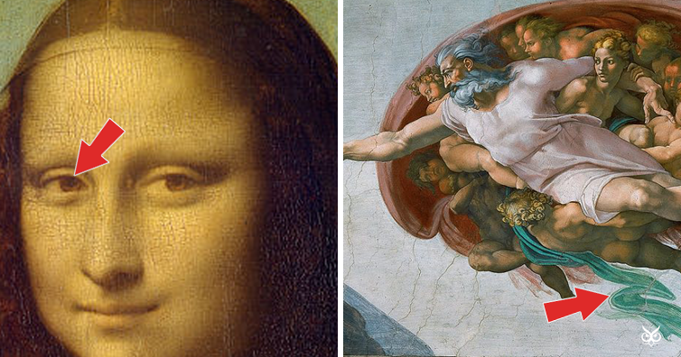 7 Secrets Hidden Within Masterpieces I M A Useless Info Junkie