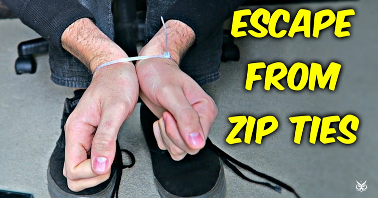 345a2f5c4336 How To Escape From Zip Ties With Shoelaces - I m A Useless Info Junkie