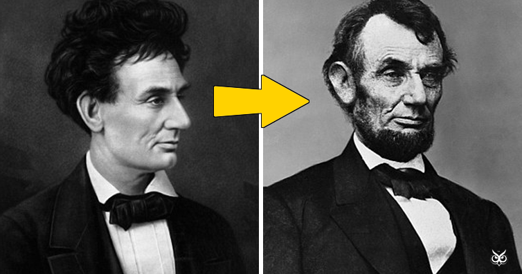The Reason Why Abraham Lincoln Grew A Beard I M A
