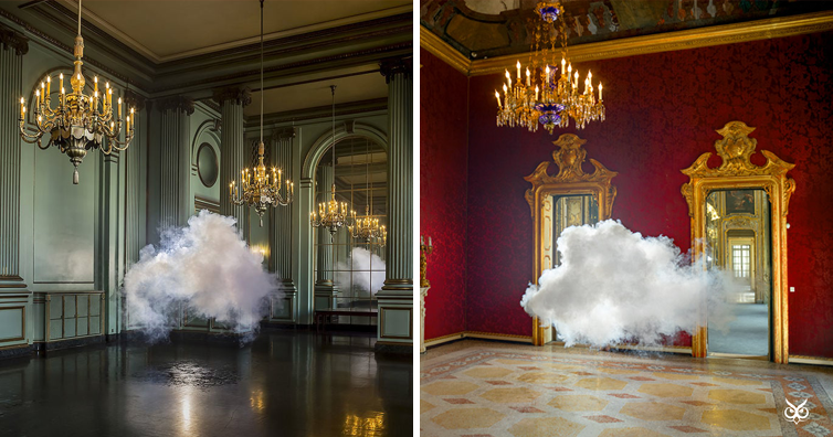 how to create a cloud in a room