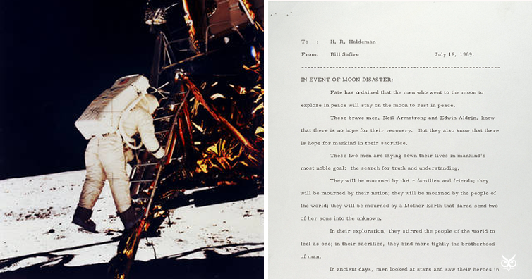 This Was The Presidents Speech Just In Case 1969 Moon Landing Had Failed