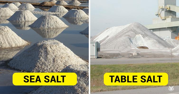 Sea Salt And Table