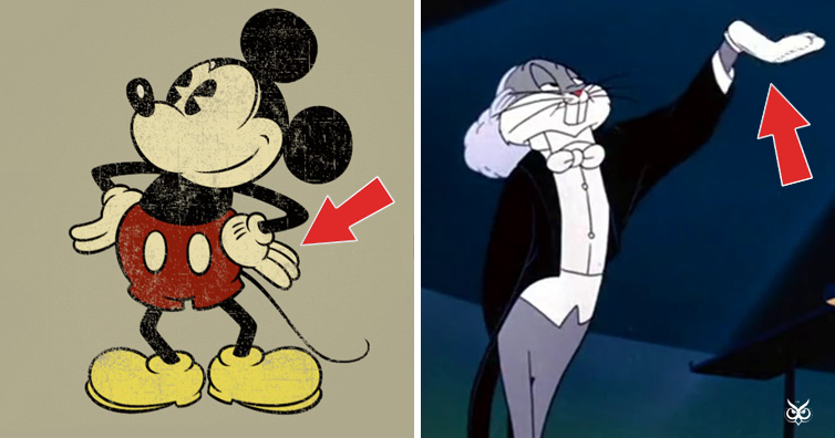 This Is Why Cartoon Characters Wear White Gloves