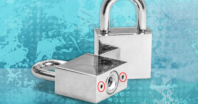 This Is Why Padlocks Have Those Small Holes In The Bottom - I'm A ...
