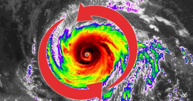 பொது அறிவு - அறிவியல் விளக்கம் (தொடர்) Hurricanesspincounterclockwise