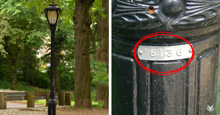 The Hidden Coding System On Central Park S Lamp Posts I