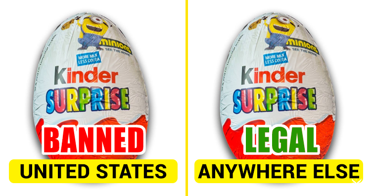 Why Are Kinder Surprise Egss Banned In The United States I M