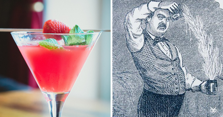 Why are mixed drinks called 39 cocktails 39 i 39 m a useless for Cocktail etymology
