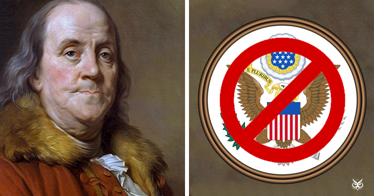 The Reason Why Benjamin Franklin Didnt Want The American Bald Eagle