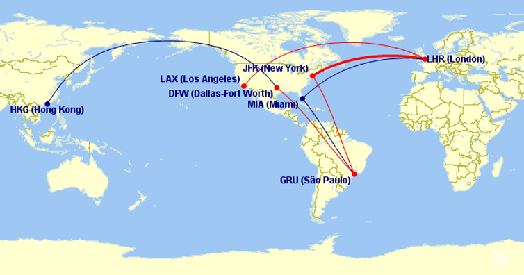 The Real Reason Why Flights Between Us And Europe Go Far North