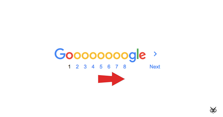 How Far Down The Google Search Results Page Will People Go